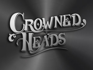Crowned Heads Metallic Wallpaper